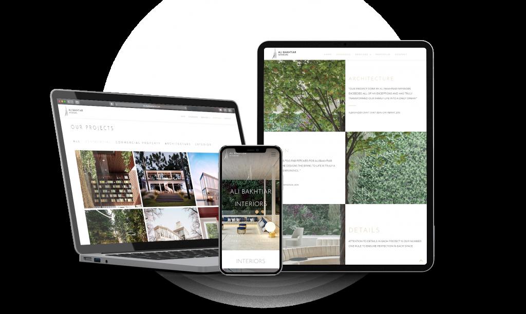 Web Design - Responsive design mobile tablet ordinateur
